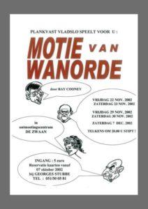 Motie van wanorde(2002)